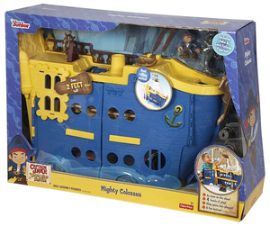 Fisher Price statek piracki Colossus Jake i Piraci